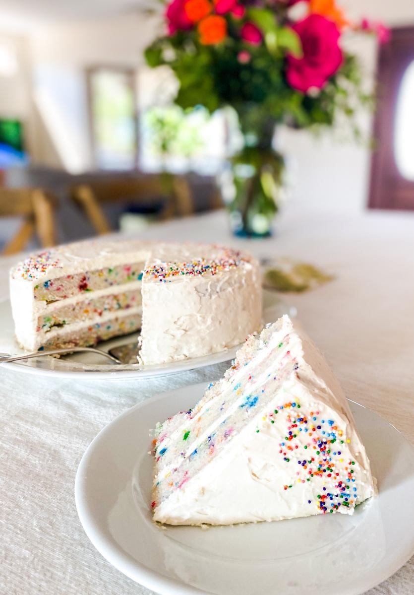 MOLLY YEH FUNFETTI CAKE